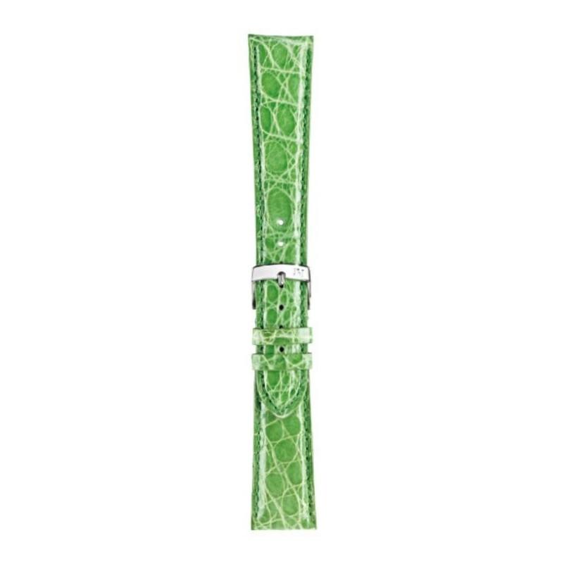 cinturino coccodrillo verde